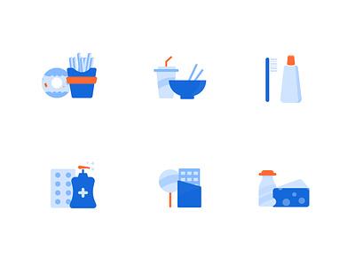 Grocery Free Icon Set icons design 24designstudio grocery icons free icons minimal ui ux ui