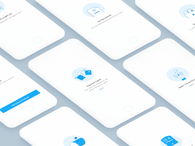 Empty state series#1 onboarding blue ux ui mobile ios illustration emptystate