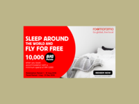 Sleep Around And Fly For Free