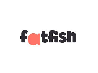 Fatfish fat fish logo design branding design logo fish sushi