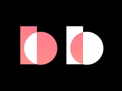 I C B logo design personal logo mark b icon design branding logo