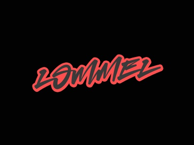 Lommel lettering mx motocross lommel belgium typography type