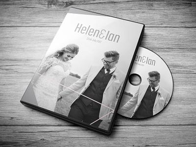 Wedding DVD Cover wedding dvd marriage grey mockup cover dvd geometric wedding