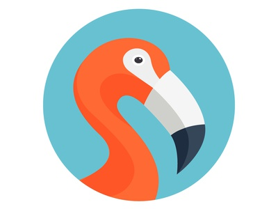 Flamingo Flat Illustration