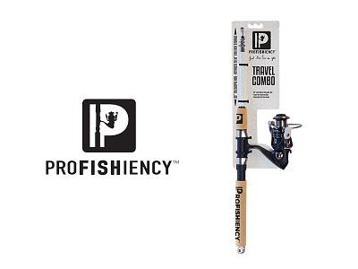 Profishiency Final packaging branding identity camping logo fishing outdoors
