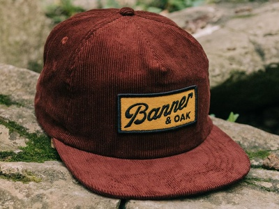 Banner & Oak - Uncle Ray Hat vintage type patch hat outdoors camping