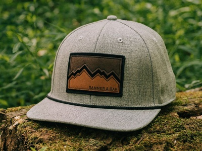 Banner & Oak - Peak Hat mountains explore hat patch hiking outdoors camping