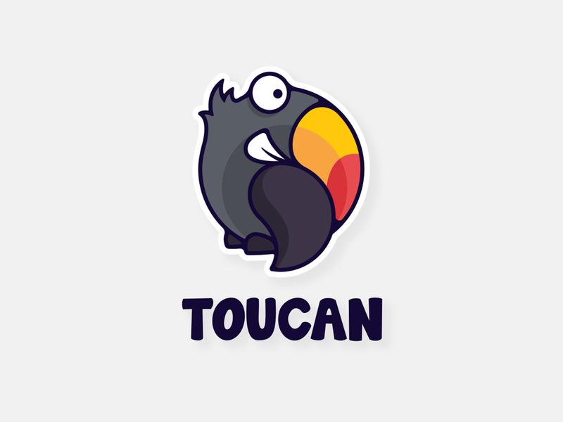 Toucan bird illustrator logodesign toucan parriot toukan southpawdesign southpaw