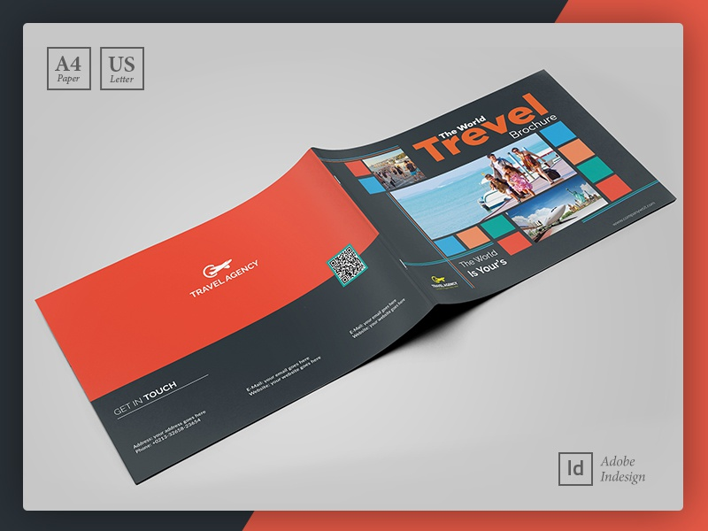 travel guide brochure booklet template by layout design ltd