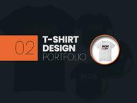 T-shirt Design Portfolio 02