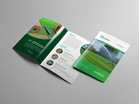 TURF GRASS ROLL Brochure Template
