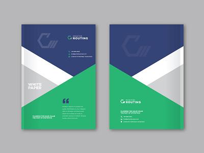 White Paper Cover Design brochure cover cover design white paper design