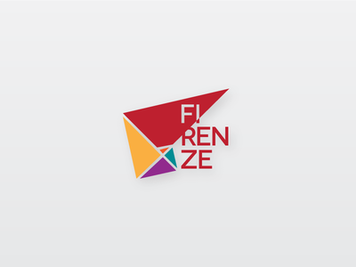 Golden Ratio - Firenze, Italy colorful branding city italy florence firenze ratio golden logo