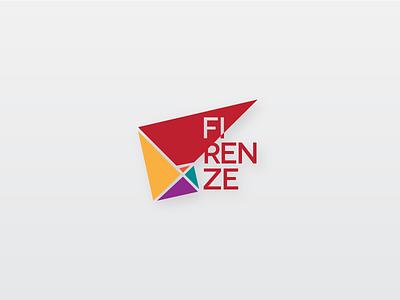 Golden Ratio - Firenze, Italy colorful branding city italy florence firenze ratio golden logo