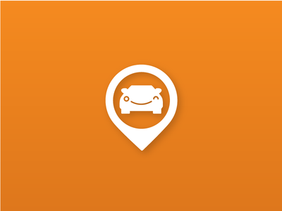 Carhelper - Swiss Startup switzerland garage app based location pin icon car logo startup