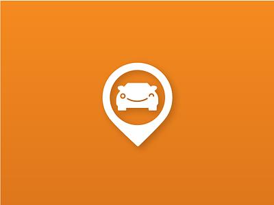 Carhelper - Swiss Startup switzerland garage app based location pin icon car logo startup