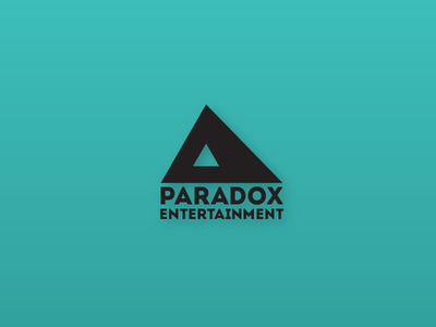 Paradox Entertainment Logo business indian india triangle branding logo entertainment paradox