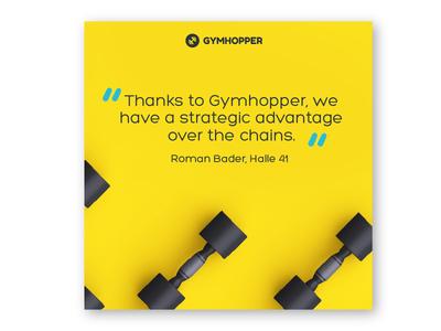 Gymhopper - Quote