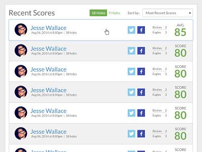 Leaderboards social share score leaderboard 019 dailyui