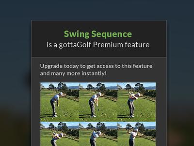 Premium Feature Modal modal premium ui mobile