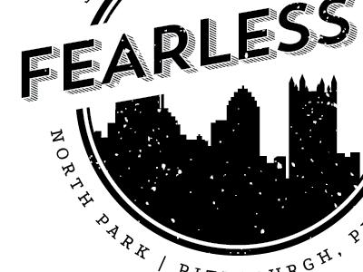 Fearless5k T-Shirt Design pittsburgh