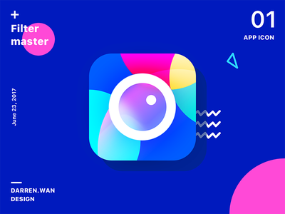 Filter master color overlay, apple camera color app icon icon filter