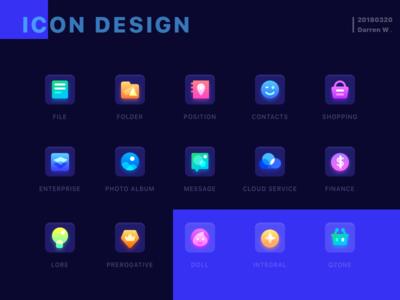 Icon Design icon logo brandding sketch illustrations hiwow darren ui,ux