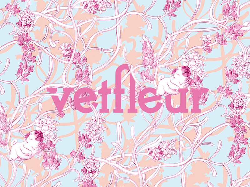 Vetfleur, aromaterapia para cães visual identidade brand design gobirasaito vetfleur patterns dogs aromatherapy