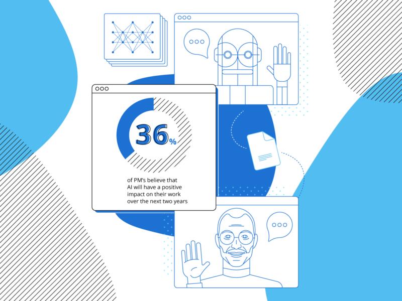 Artificial Intelligence || Infographics minimal flat ui vector design illustraion infographic design infographics robots ai artificial intelligence