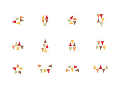 Logo Mark Jumbles experiment