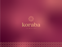 Koraba Jewelry - Logo Design skin care cosmetics icon unique logo sophisticated gradient pattern golden rotation flower geometric classic fashion elegant luxury jewellery jewelry minimal vintage graphic design identity mark branding logo