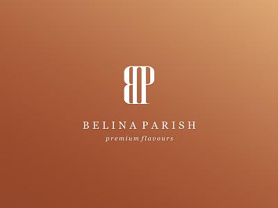 BP Premium Liquid Flavours, Essences & Natural Oils minimal wordmark bp minimalistic bronze luxury essences oil e-liquid vape tobacco elegant