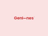 Genlines Minimalistic Logo Design