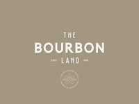 The Bourbon Land - Logo Design