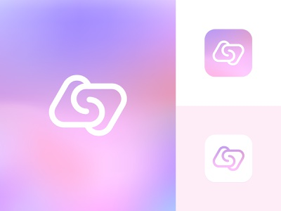 ASD Logo Mark / App Icon geometric logo abstract logo technology logo app icon gradient icon pink logo monogram lettermark lineart tech logo icon typography modern logo colorful logo graphic design minimalistic identity mark branding logo