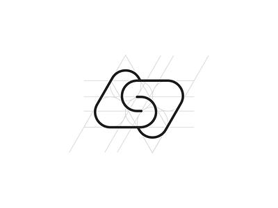 ASD Logo mark and grid explanation artificial intelligence app gaming logo typogaphy letter smart logo line art logo technology logo geometric logo abstract logo monogram logo lettermark asd logo grid animation minimalistic identity mark branding logo