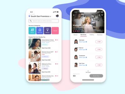 Beauty & Health Services App