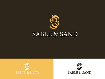 Sable and Sand Luxury logo clothing brand feminine ornamental branding logo lettering s minimal logo design luxury logo