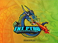 TNT PYRO- Chinese Dragon