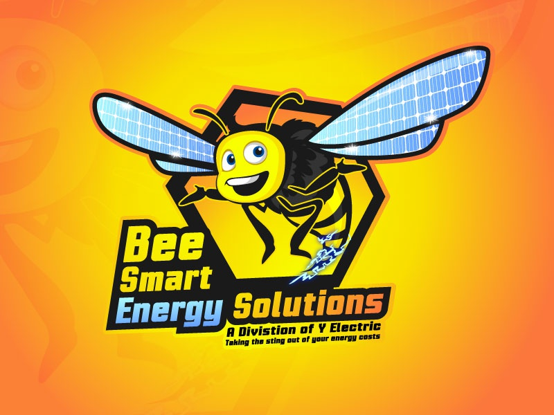 Bee smart energy solutions by DewApples on Dribbble