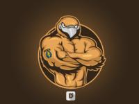 Hawk Mascot