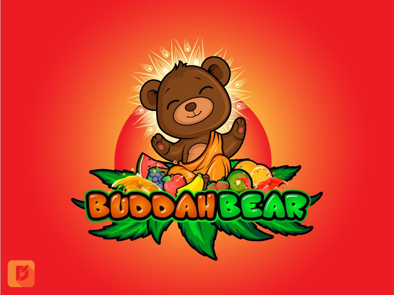 Buddah Bear by DewApples on Dribbble