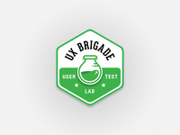 UX Brigade - User Test Lab Badge