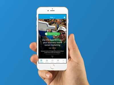 Dreamforce 2015 App conference event dreamforce salesforce app ux ui time ios iphone