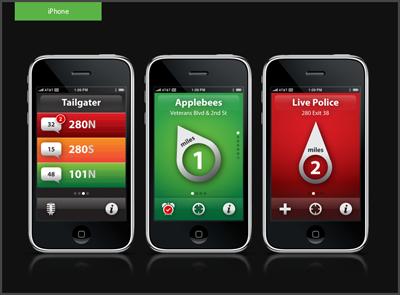 Aha App ios mobile ui ux