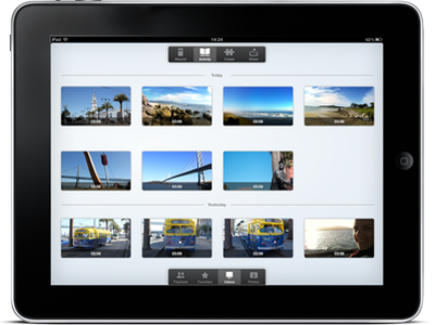 Kodak photo browser app mobile ui ux ios