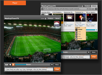 Kyte video player interface