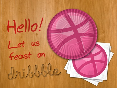 Feast on Dribbble dribble free throw