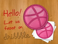 Feast on Dribbble