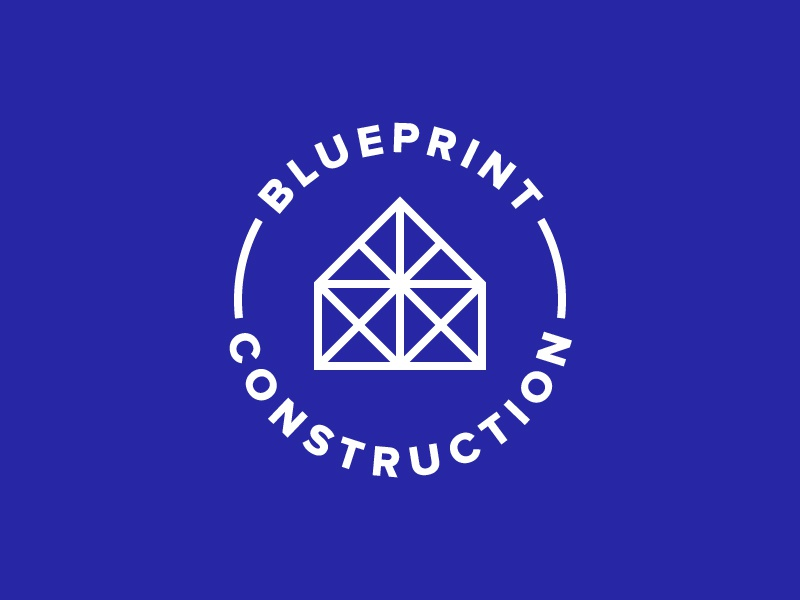Blueprint construction by ameen al saqqaf dribbble malvernweather Gallery